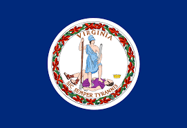 Maine State Flag Virginia State Flag