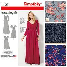 v shaped dress pattern make it yourself maxi dresses