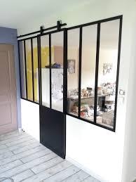 porte coulissante separation cuisine separation vitree cuisine salon 7 verri232re porte coulissante
