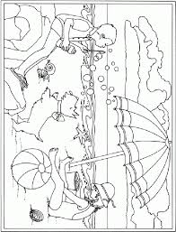coloring summer coloring worksheets