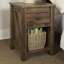 honey pine nightstand wayfair