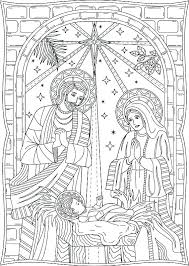 printable coloring pages nativity scenes nativity scene coloring pages nativity the birth of scene coloring