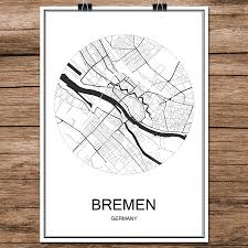 Bremen Germany Map by Online Get Cheap Germany Posters Aliexpress Com Alibaba Group