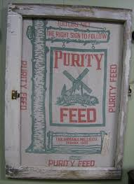country lane crafts u0026 antiques feed sacks framed in old windows