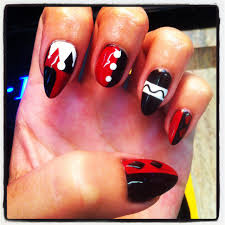 my harley quinn nails my creativity pinterest harley quinn