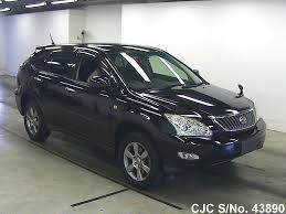 harrier lexus 2007 2009 toyota harrier black for sale stock no 43890 japanese