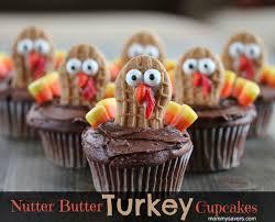nutter butter turkey cupcakes thanksgiving nutter