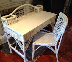 desk chair wicker desk and chair mid century white office uk