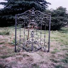 ornamental wrought iron grape pedestrian gate global sources