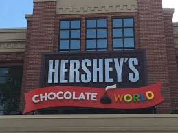 Hershey Pennsylvania Map Chocolate World Hershey Pa Lots Of Fun For Everyone1