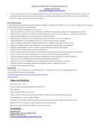 Resume Sample Format For Engineers by Environmental Health Safety Engineer Sample Resume 22 Ehs Resume