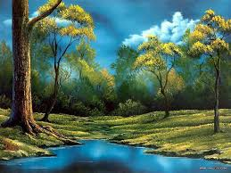 landscapepaintings peaceful landscape paintings by bob ross bob ross landscape oil