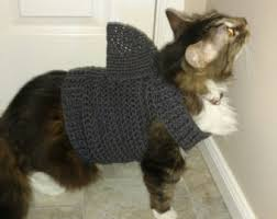 sweaters for cats cat sweater etsy