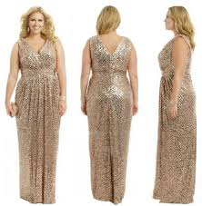 plus size bridesmaid dresses gold wedding prom gowns plus size chagne gold