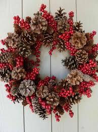 pine cone wreath pine cone wreath creative wreath ideas for christmas http hative