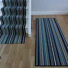Striped Runner Rug Navy Blue Rug Runner Roselawnlutheran