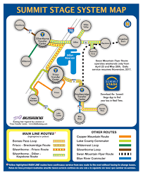 Breckenridge Map Summer Bus Schedule Summit County Co Official Website