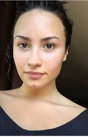 demi s no makeup monday love these no makeup celebrities helping teach confidence