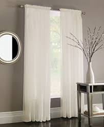 Cotton Gauze Curtains Sheers Curtains And Window Treatments Macy U0027s