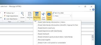 outlook email tracking add in with team templates for microsoft
