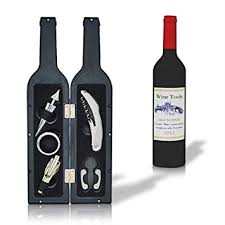 wine sets deluxe wine bottle git set bottle opener stopper