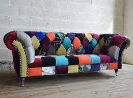 Tartan Chesterfield Sofa Walton Patchwork Chesterfield Sofa Abode Sofas