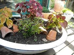 Pot Garden Ideas Clever Plant Container Ideas The Micro Gardener