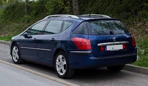 peugeot 607 coupe file peugeot 407 sw facelift u2013 heckansicht 3 mai 2012