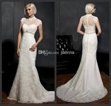 wedding dress covers cover high neck sleeve lace sheath column wedding