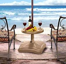 Patio Umbrella Stand by Patio Umbrella Stand Table Shademobile Ru226250 Rolling And