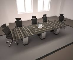 Modern Conference Table Design Zabano Contemporary Conference Table 90 Degrees Office Concepts