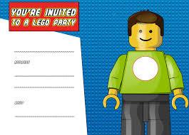 free lego birthday invitations image collections invitation