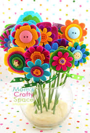Image For Flowers Best 25 Button Flowers Ideas On Pinterest Fabric Flower