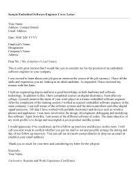 software engineer cover letter sample internship engineering