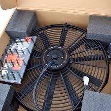 electric radiator fans mishimoto mmfan 16 16 slim electric fan ebay