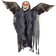 animated winged reaper halloween prop costumes com au