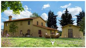 Farm Houses 2 Farmhouses For Sale In Montefoscoli Palaia Tuscany
