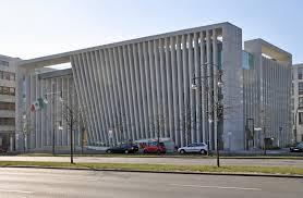 Buro Einrichtung Beton Holz Mexikanische Botschaft In Berlin Beton Büro Verwaltung