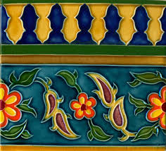 Tile Borders Reproduction Of Islamic Tiles The World Of Islamic Tiles