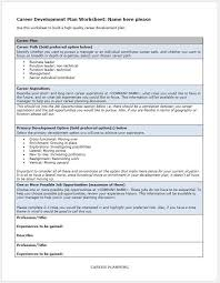 career development plan template u2013 clickstarters