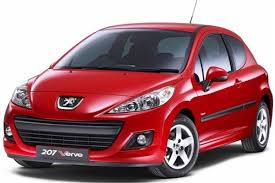 peugeot 207 red two new engines for peugeot 207 verve for 2010 motoring news