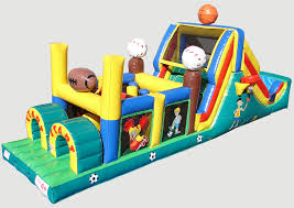 Backyard Inflatables Backyard Sports Obstacle Course Obstacle Course For Rent