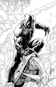black panther 1 by dale keown sold in comic paradise u0027s art by