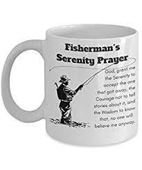 serenity prayer mug 19 best fishing mugs images on cups fishing and mug