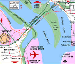 washington dc airports map road map of washington dc dca ronald national airport