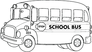 preschool coloring pages school transportation coloring page school bus coloring page preschool for