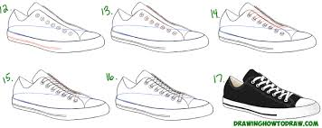 how to draw thanksgiving how to draw sneakers shoes with easy step by step drawing