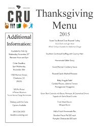 order thanksgiving thanksgiving with cru order today cru cafe