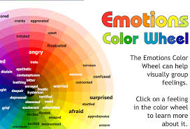 color and mood chart create a feeling using colors abo press