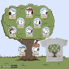 snoopy tree score snoopy s family tree by obsoletegirl on threadless